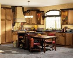 Une cuisine champ tre c 39 est surtout des couleurs vivante - Modele de cuisine champetre ...