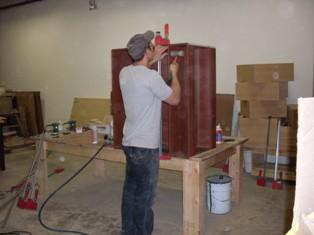 Caissons modules d 39 armoires de cuisine for Caisson armoire de cuisine