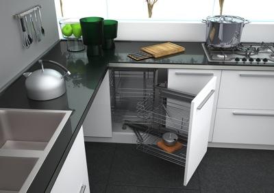 Un armoire de coin ou caisson de coin d 39 armoire c 39 est la for Meuble en coin pour cuisine
