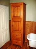 armoire de rangement salle de toilette
