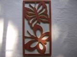 panneaux de portes de bois de maison