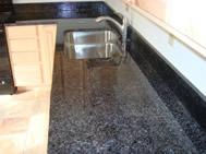 comptoir de béton léger pour armoires de cuisine