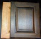 Armoires de cuisine à refaire portes de bois couleurs