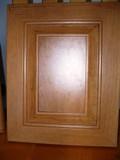 porte de polyester armoires de cuisine