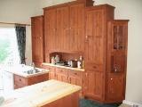 portes armoires de cuisine en pin écologique