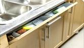 tiroirs SOS pour armoires de cuisine sous lévier  de cuisine