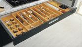accessoires pour armoires de cuisine, diviseur de tiroir