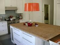 comptoir de bambou pour armoires de cuisine