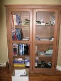 armoire style bibliothèque