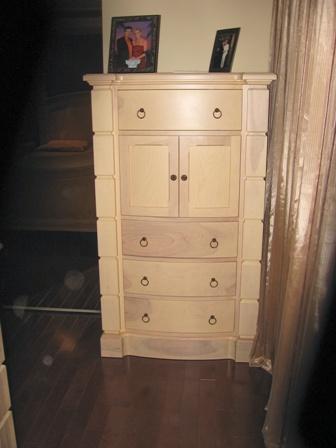 set de chambre, bureau, commode, ébénisterie