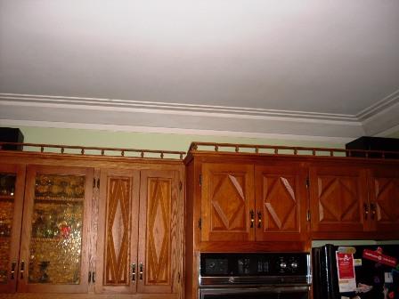 armoires de cuisine en chêne à décaper, cuisine en bois