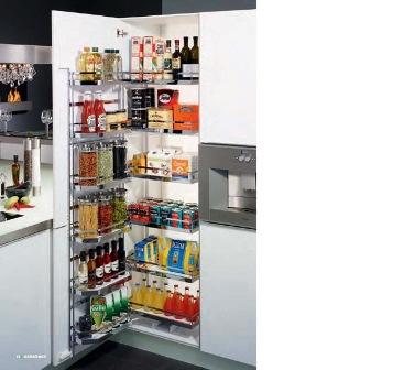 accesoires de cuisine, armoires de cuisine, garde manger