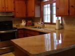 comptoir de cuisine en béton leger