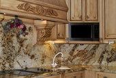 comptoir de granite et couleur