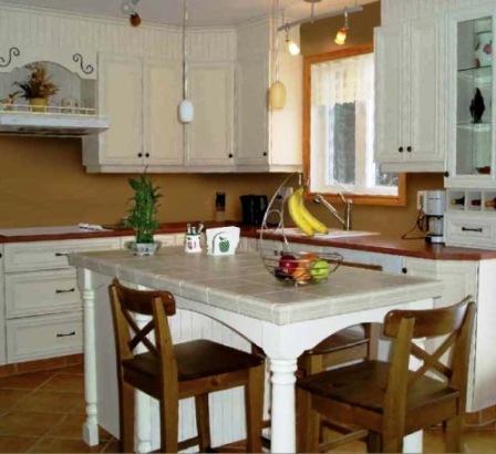 Armoires de cuisine renover meuble cuisine chene also - Renover meubles de cuisine ...