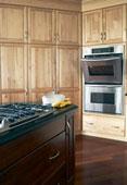 portes de bois armoires de cuisine