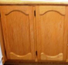 porte d'armoires en chêne