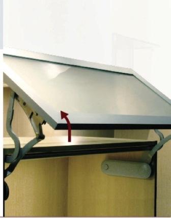 Quincailleries de portes d armoires de cuisine diff rents for Les differents types de cuisine