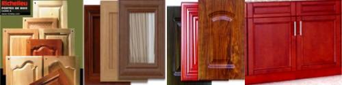 portes d'armoires de cuisine faite votre choix