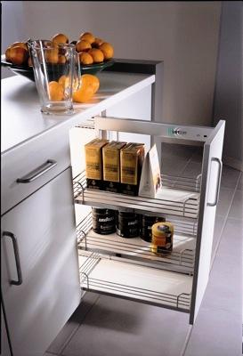 accessoires de cuisine, garde manger pull out pour le bas d'armoires de cuisine