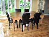table et chaises de cuisine, armoires de cuisine