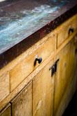 armoires de cuisine à décaper