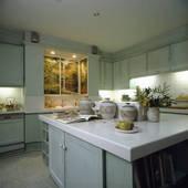 Comptoir de cuisine corian