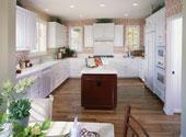 armoires de cuisine blanche