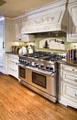 armoires de cuisine et hotte de poêle