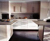 armoires de cuisine en mélamine