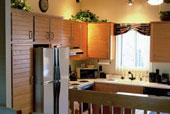 armoires de cuisine et comptoir