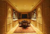 armoires de rangement, bibliothèque, portes