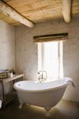 bain sur patte salle de bain