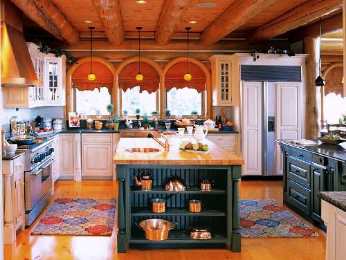 Une cuisine champ tre c 39 est surtout des couleurs vivante for Cuisine champetre