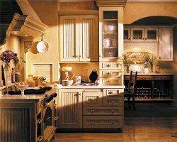 Une cuisine champ tre c 39 est surtout des couleurs vivante for Armoire de cuisine style champetre