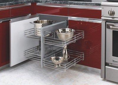 module de coin d'armoires de cuisine