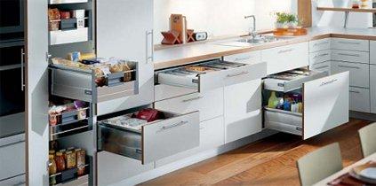 tiroirs de cuisine