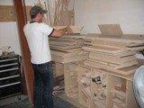 coupe de bois caissons, modules