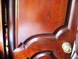 Portes de bois en noyer armoires de cuisine