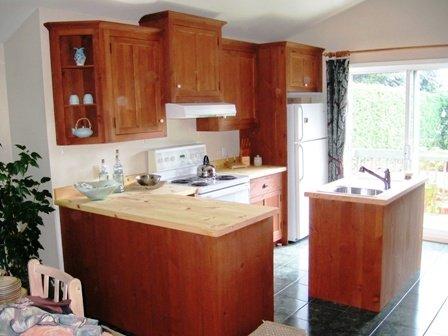 Meubles de salle d ner de salle de bain et d 39 armoires - Cuisine contemporaine en bois massif ...